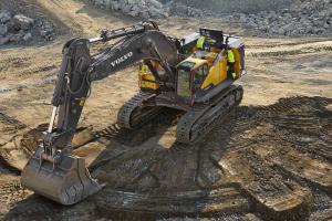 沃尔沃EC950EL履带挖掘机图片集