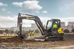 沃尔沃EC55D挖掘机图片集