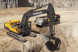 沃尔沃EC350D履带挖掘机图片集
