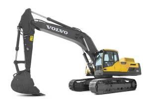 沃尔沃EC480DL履带挖掘机