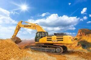 山推SE500LC-9履带挖掘机图片集