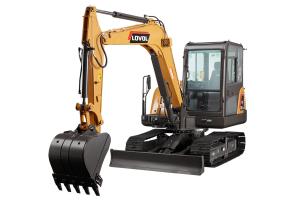 雷沃FR60E2-H履带挖掘机图片集
