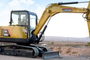 雷沃FR65E2 挖掘机图片集