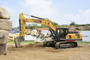 雷沃FR370E2-HD 挖掘机图片集