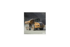 凯斯340B铰接式自卸卡车图片集