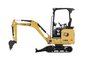 卡特彼勒新一代Cat 301.5液压挖掘机图片集