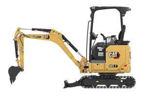 卡特彼勒新一代Cat 301.7 CR液壓挖掘機