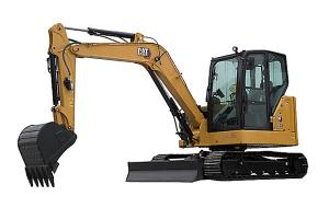 卡特彼勒新一代Cat306.5挖掘机图片集