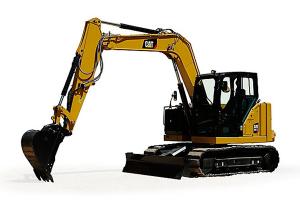 卡特彼勒新一代Cat 307.5液压挖掘机图片集