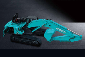神钢SK350LC-10 SuperX履带挖掘机图片集