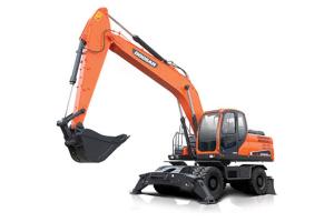 斗山DX210W-9C轮式挖掘机图片集