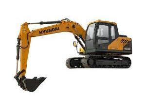 现代R110VS履带挖掘机图片集