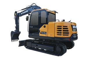 现代HX75/D小型挖掘机图片集