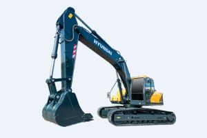 现代R275LVS PRO中大型挖掘机图片集