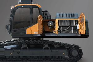 现代R395LVS中大型挖掘机图片集