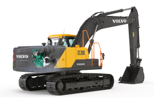 沃尔沃EC200挖掘机(荣耀版)图片集