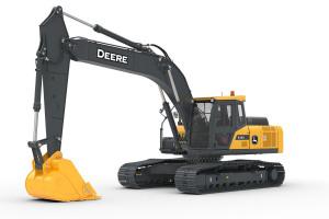 约翰迪尔E240履带挖掘机
