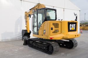卡特彼勒新一代Cat307.5液压挖掘机图片集