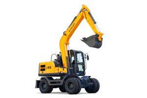 新源C95W轮式挖掘机图片集