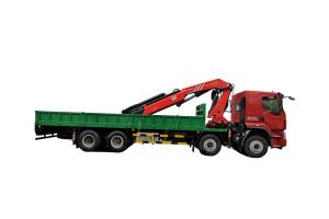 三一SPK38502 38.2吨米折臂式随车起重机