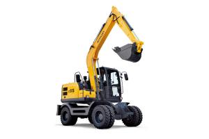 新源C85W轮式挖掘机图片集