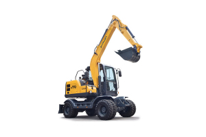 新源C70W轮式挖掘机
