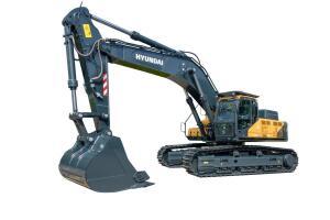 现代R550LVS履带挖掘机