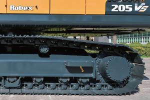 现代R205VS履带挖掘机图片集