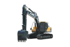 现代R215VS履带挖掘机图片集