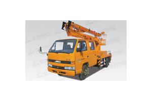 10米折臂式江铃高空作业车