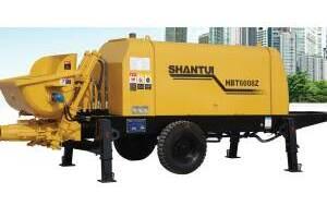 山推HBT6008Z混凝土拖泵圖片集
