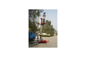 京城重工桅柱式高空作业平台图片集3