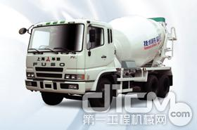 华建三菱9m3搅拌运输车