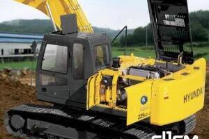 现代R225LC-7履带挖掘机图片集