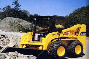 現代現代HSL850-7滑移裝載機圖片集