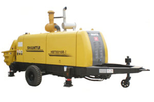 山推HBT8016R-Ⅰ混凝土拖泵圖片集