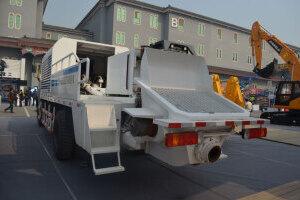 北方重工BZ5161THBS90车载双动力混凝土泵车图片集
