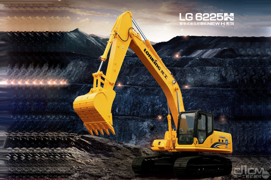 龙工LG6225H履带挖掘机功能介绍大全