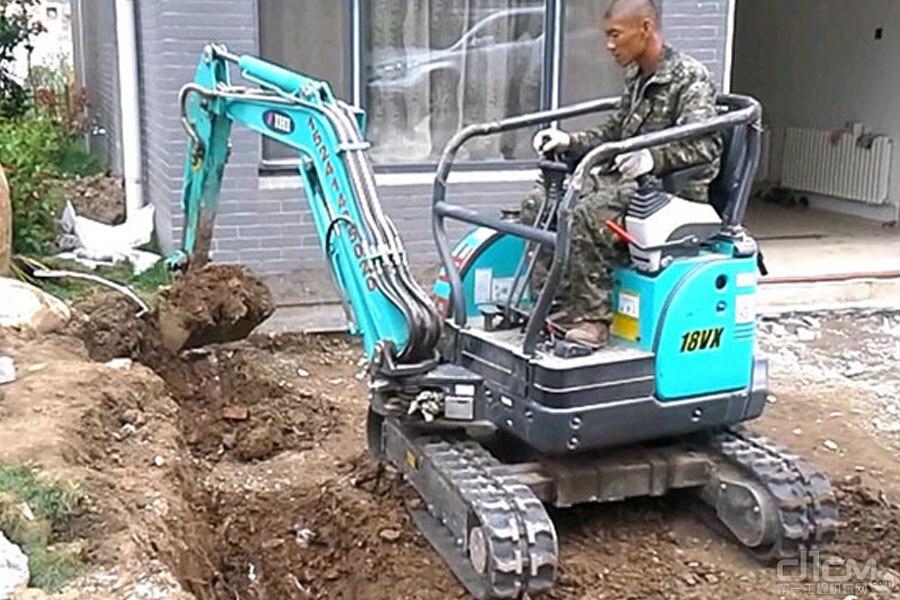 加藤中骏18VX履带挖掘机产品性能如何