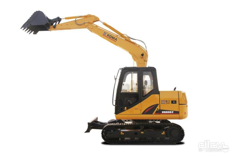 厦工XG808F履带式挖掘机口碑怎么样