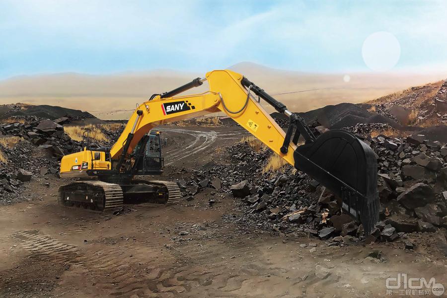 三一SY335H SIC挖掘机图片