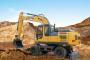 XE210WB轮式挖掘机图片