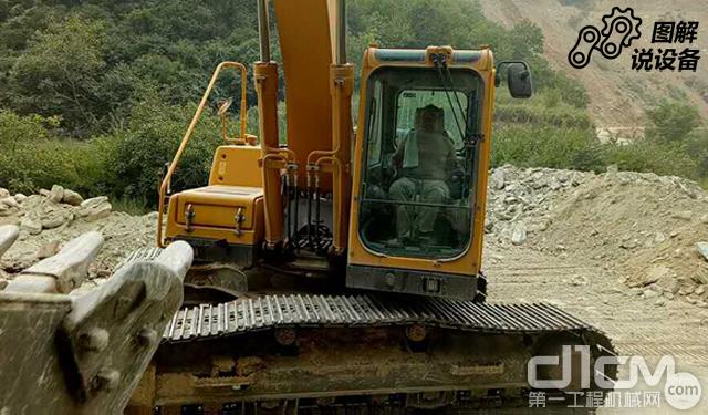 图解山东临工LG6225E挖掘机