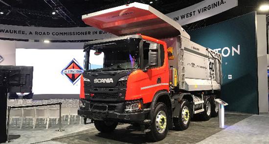 斯堪尼亚和纳威司达携手合作 为加拿大采矿业提供车辆和服务