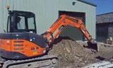 日立建机Zaxis 60 挖掘机在装车