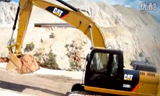 Cat 320D2挖掘機視頻