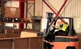 ITS电动叉车操作视频表演 工程机械视频