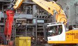 利勃海爾956拆除挖掘機視頻