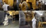 卡特777D自卸卡车复杂而细致的再制造工艺展示