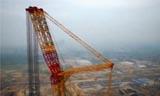 工程机械中的怪物 徐工4000吨履带吊车